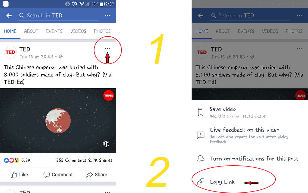How to download facebook video on android