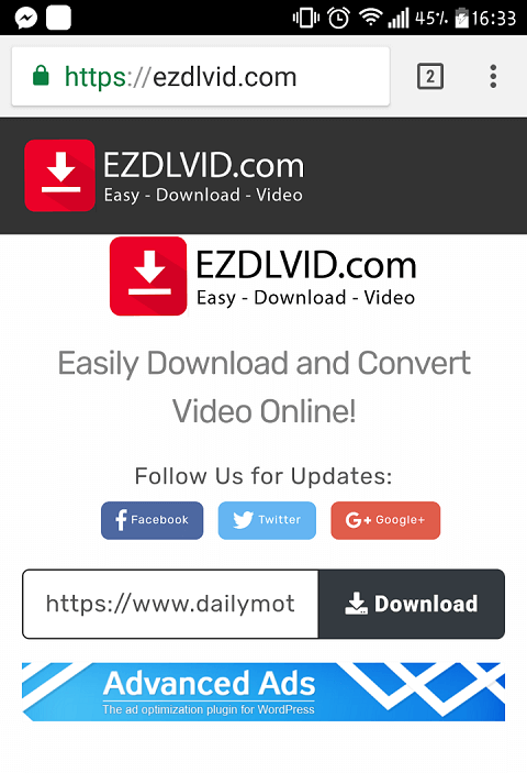 Easily download Dailymotion videos on any Devices Online - EZDLVID