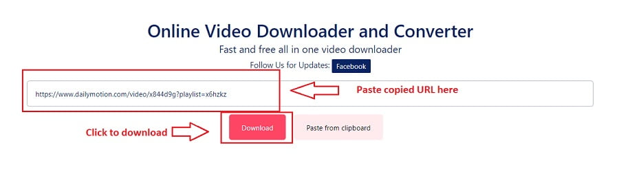 How to download Dailymotion videos - Step 2
